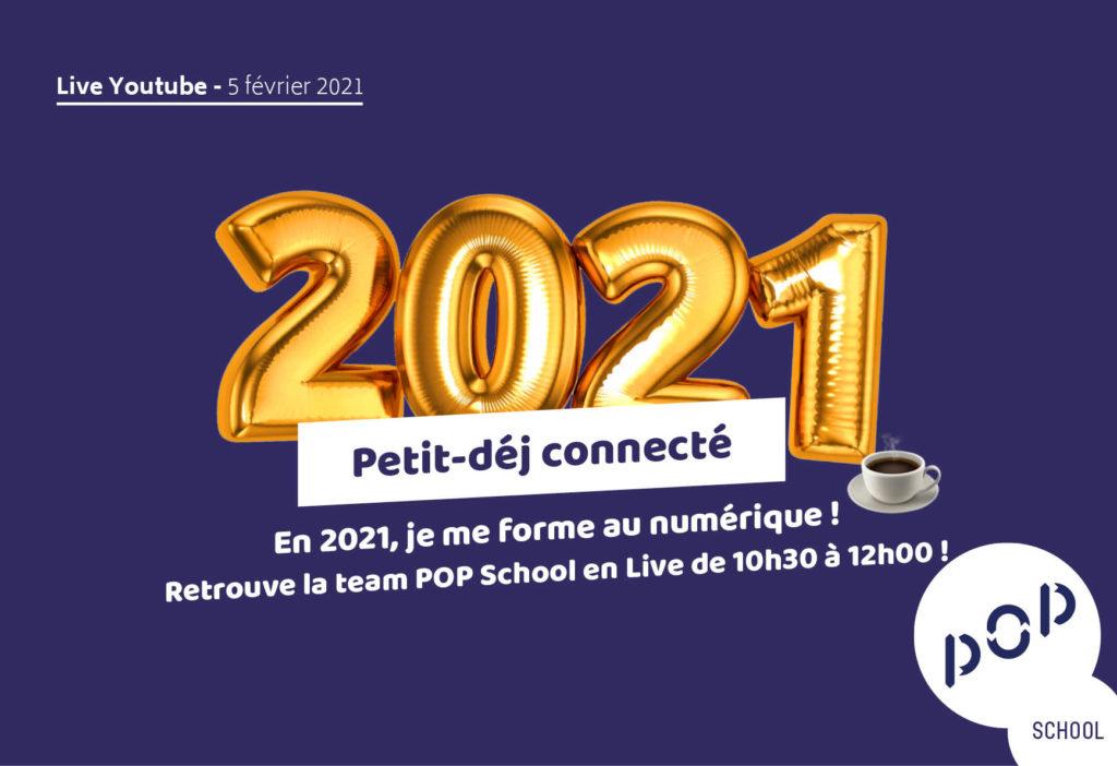 Petit déjeuner connecté by POP School