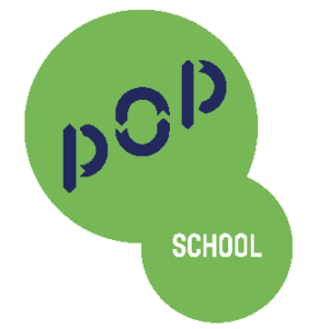 logo pop school